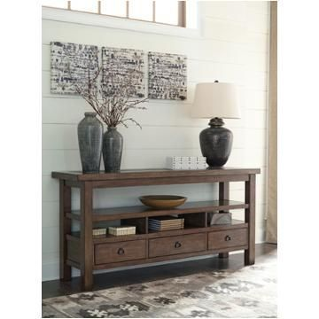 Best T911 4 Ashley Furniture Campfield Console Table Ashley 400 x 300