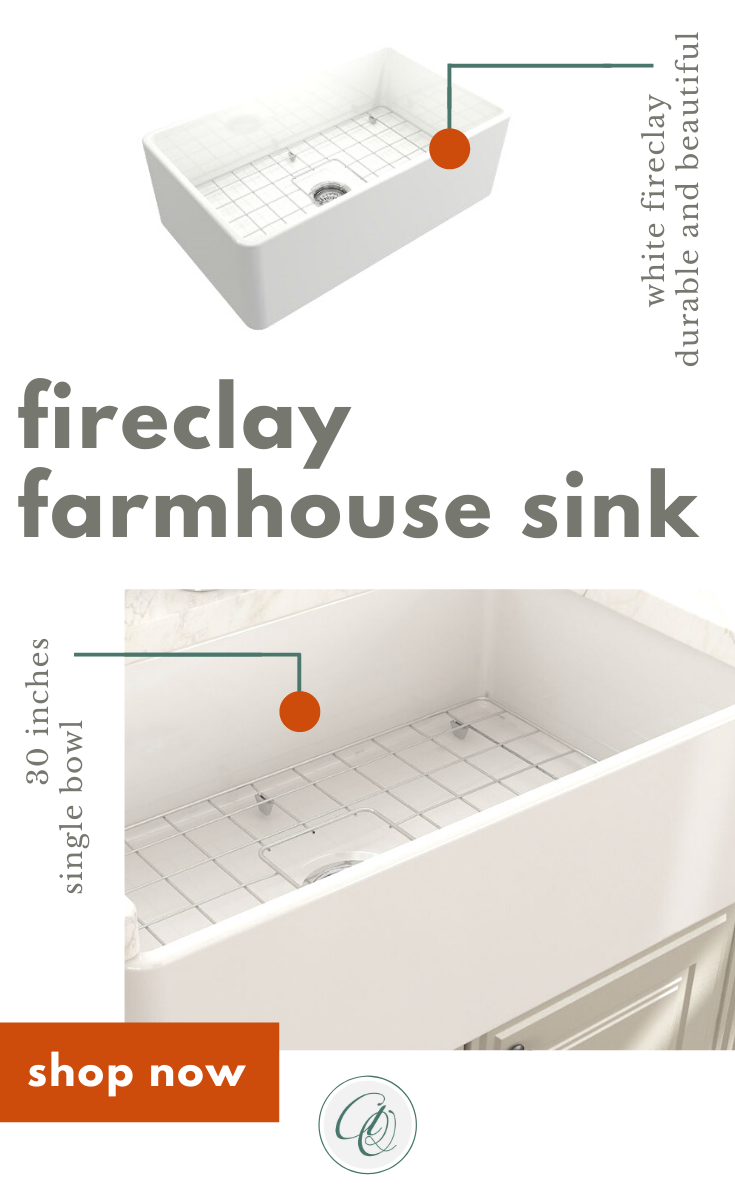 Bocchi Classico 30 White Single Bowl Fireclay Farmhouse Sink With Free Grid In 2020 Fireclay Farmhouse Sink Farmhouse Sink Farmhouse Sink Kitchen