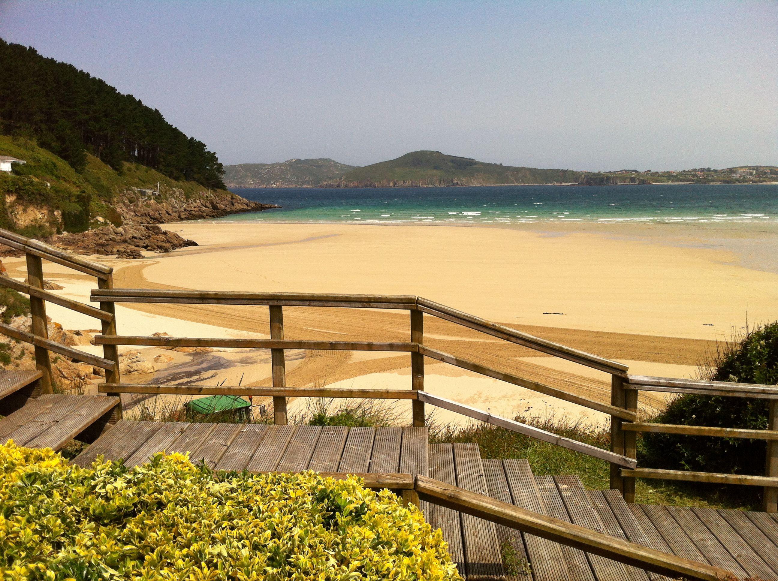 Playa De San Jorge Ferrol Playa Turismo Viajes