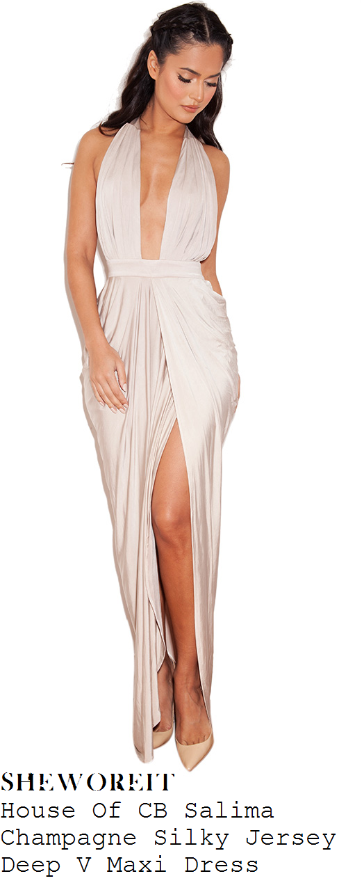 ad2330d3a50 rumer-willis-champagne-taupe-sleeveless-plunge-front-sleeveless-maxi-dress