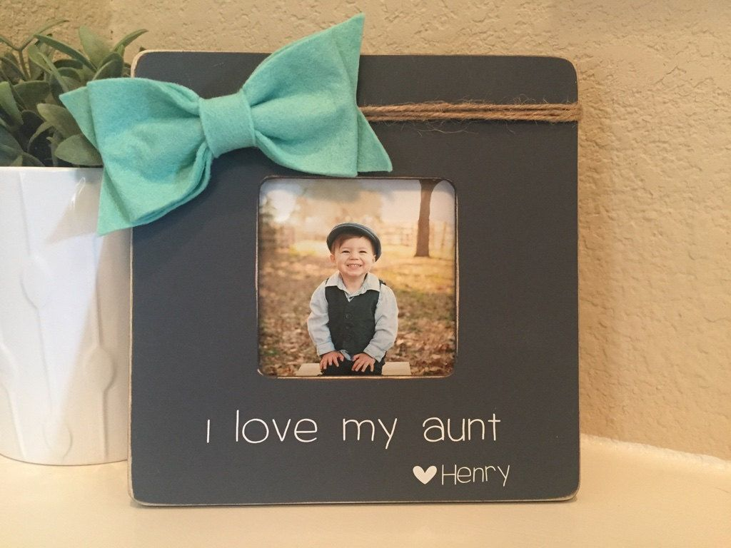 Aunt Gift Aunt Picture Frame Aunt Personalized Gift For Aunt From ...