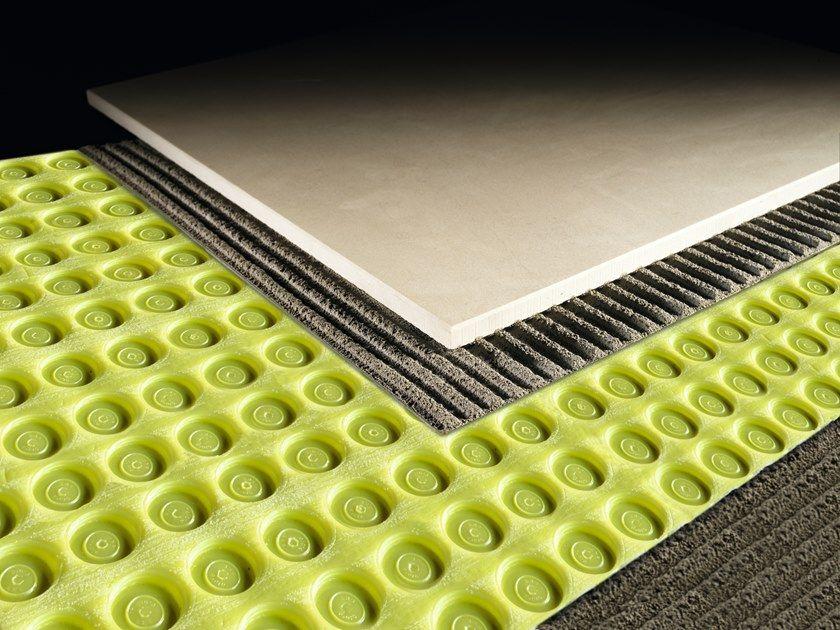 Floorings Uncoupling Membrane Floortec By Profilitec Ceramic Floor Tiles Flooring Floor Installation