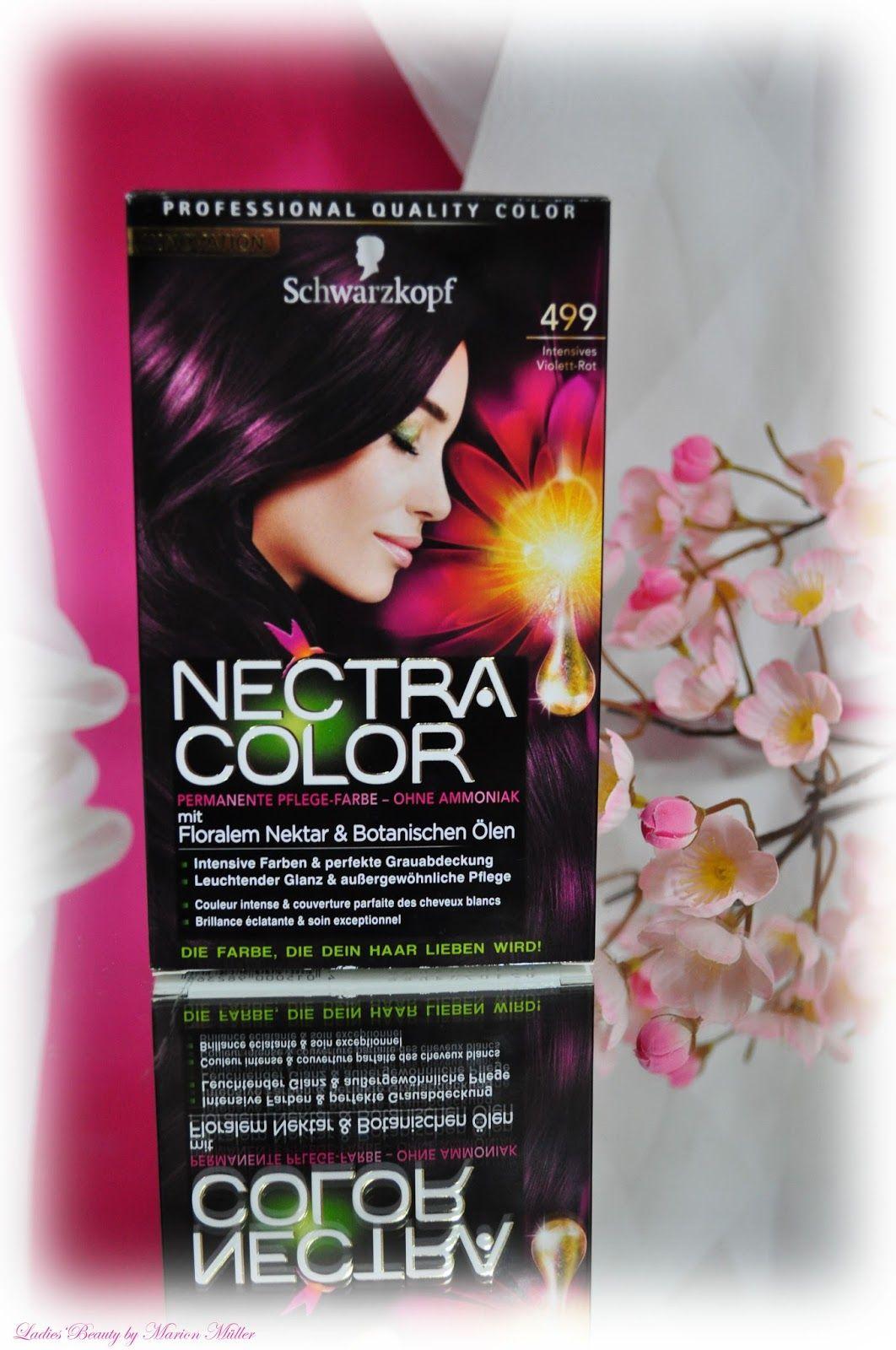 Haarfarbe schwarzkopf nectra color