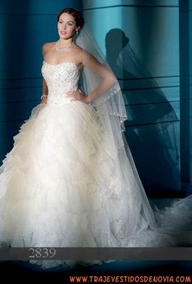 2839 Vestido de Novia Demetrios Bride | vestidos de novia Sevilla ...