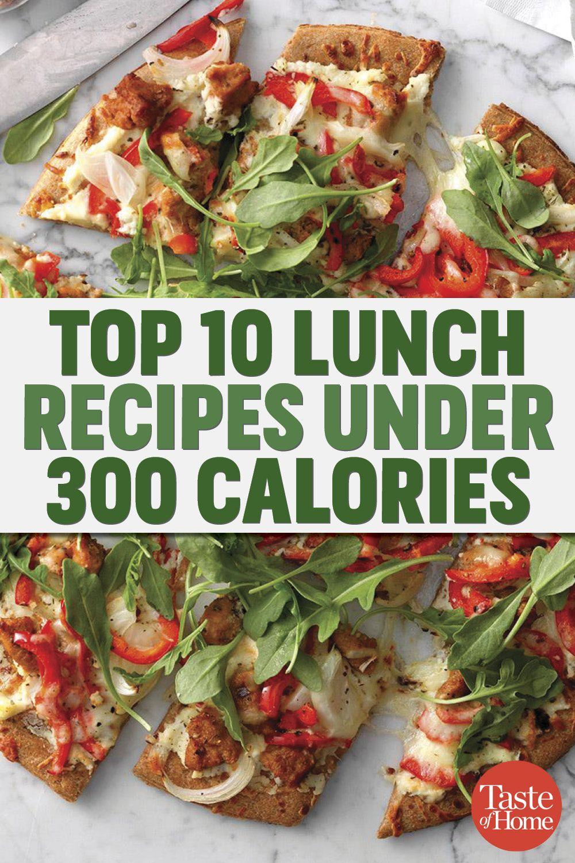 Top 10 Lunch Ideas Under 300 Calories