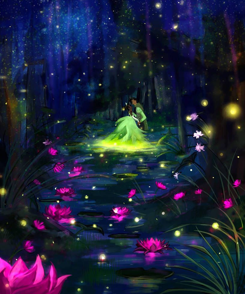 The Princess And The Frog Tiana And Naveen By Pittsdolls On