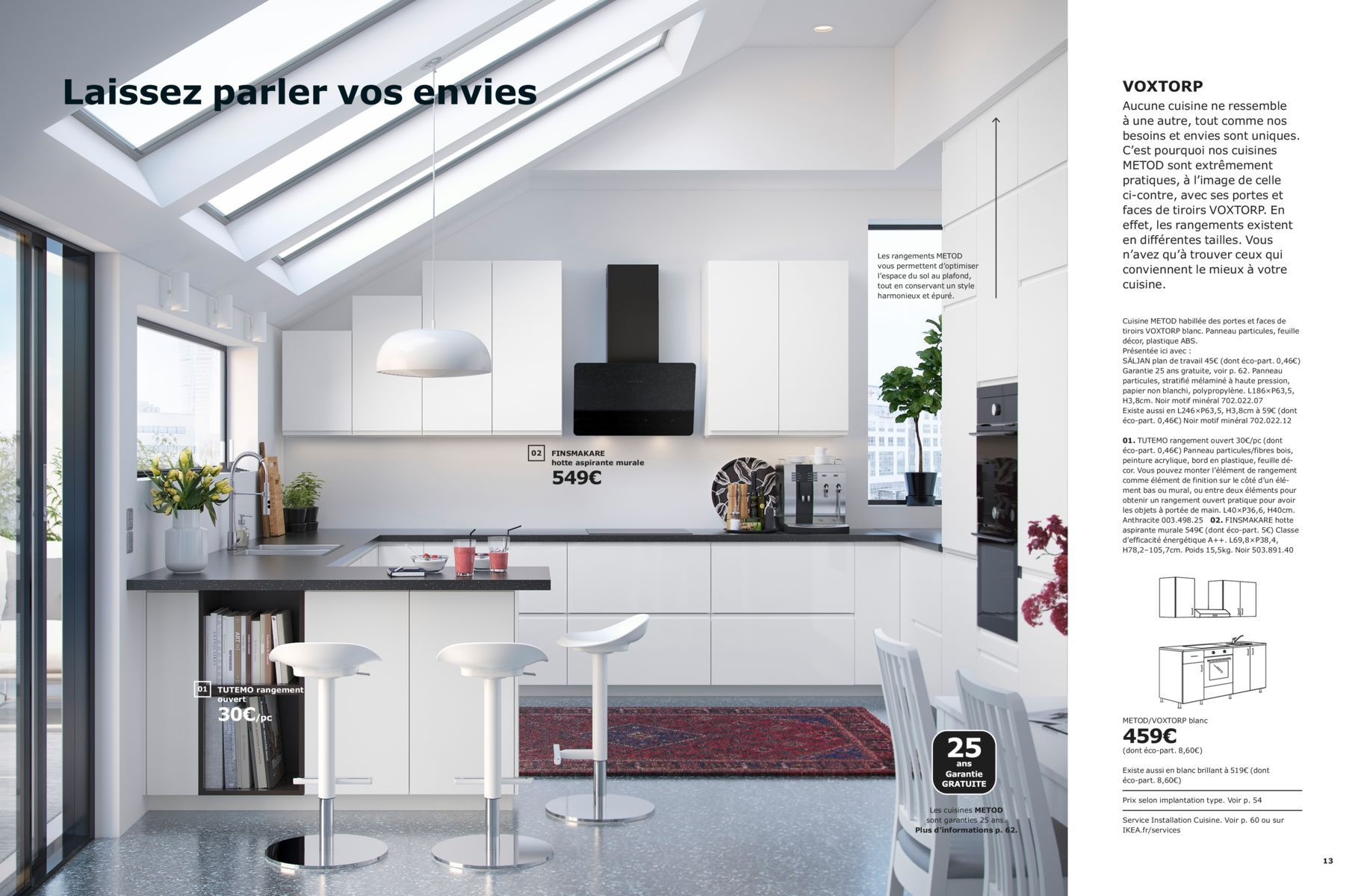 Laissez Parler Vos Envies Brochure Cuisines Ikea 2019