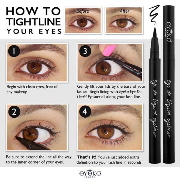 Extra 10 Liner Tricks.Top 10 Tips On How To Make Your Eyelashes Look Longer How