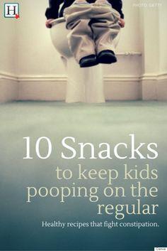High Fiber Foods: 10 Snacks To Help Your Kids Poop On The Regular