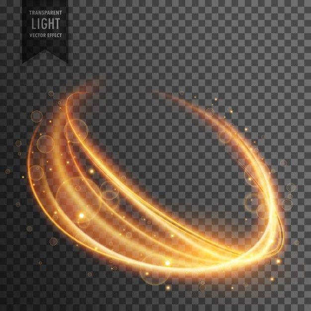 Efeito De Luz Transparente Em Forma Ondulada in 2019 | Effects