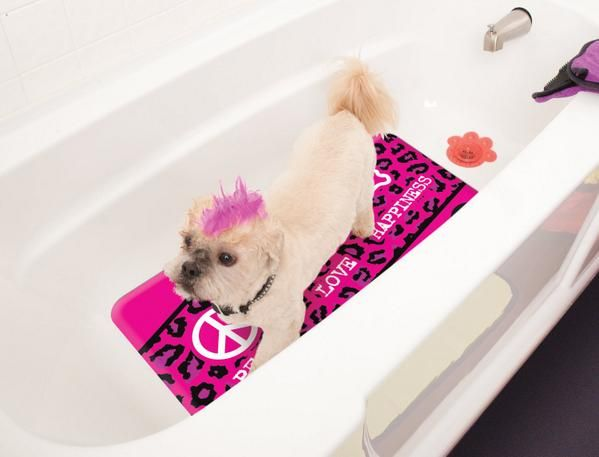 LIGHTNING DEAL Pet Head No Skid Decorative Bath Matt, 71 x 10cm NOW £5.25 LOWEST EVER PRICE