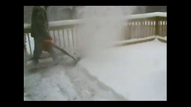 Deck Jet Airjet Shovel Safely Removes Snow From Deck Glides Over Grooves Prevents Deck Damage Air Jet Blows Snow F Snow Removal Snow Cleaning Snow Blower