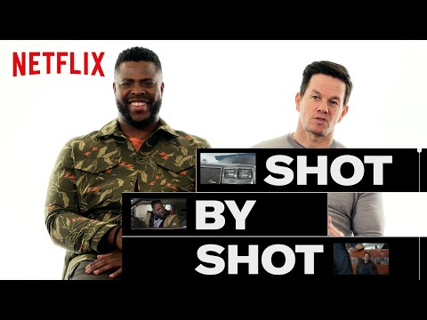 How Mark Wahlberg And Winston Duke Shot The Craziest Scene In Spenser Confidential Netflix In 2020 Tv Commercials Netflix Mark Wahlberg
