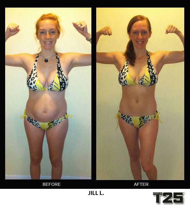 Insanity Workout T25: Jill L's Results From Focus T25!!