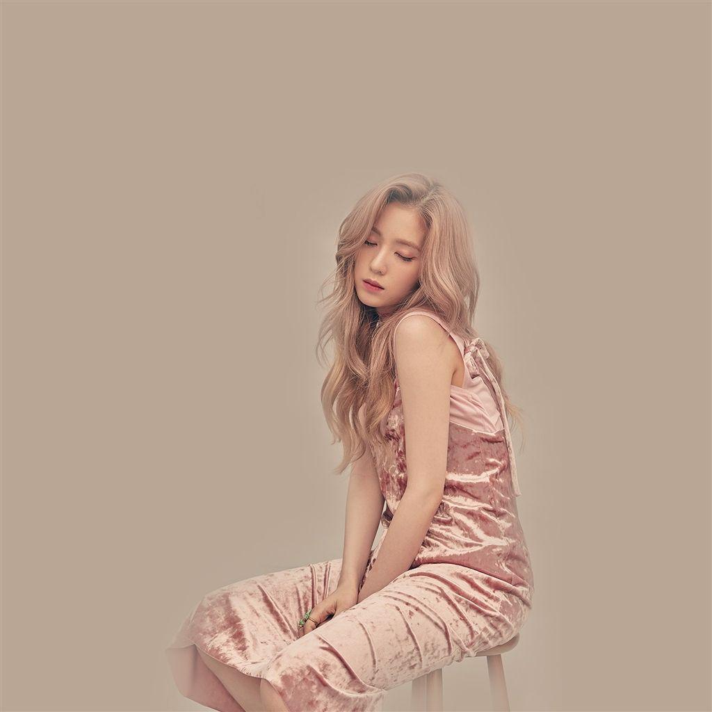 Irene Kpop Redvelvet Pink Girl Retina Ipad Air Wallpaper