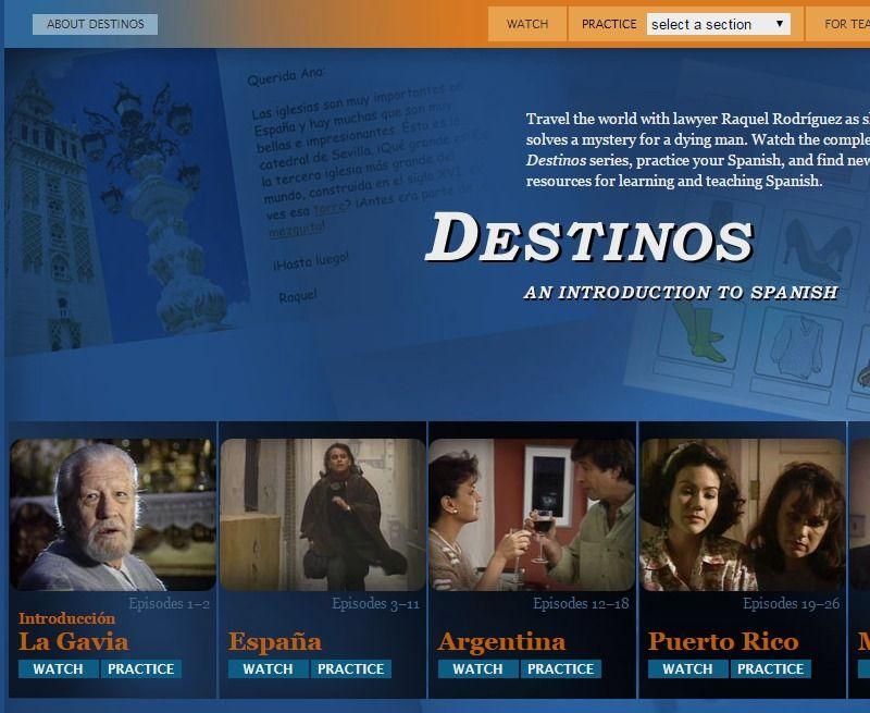 Destinos Classroom Pinterest
