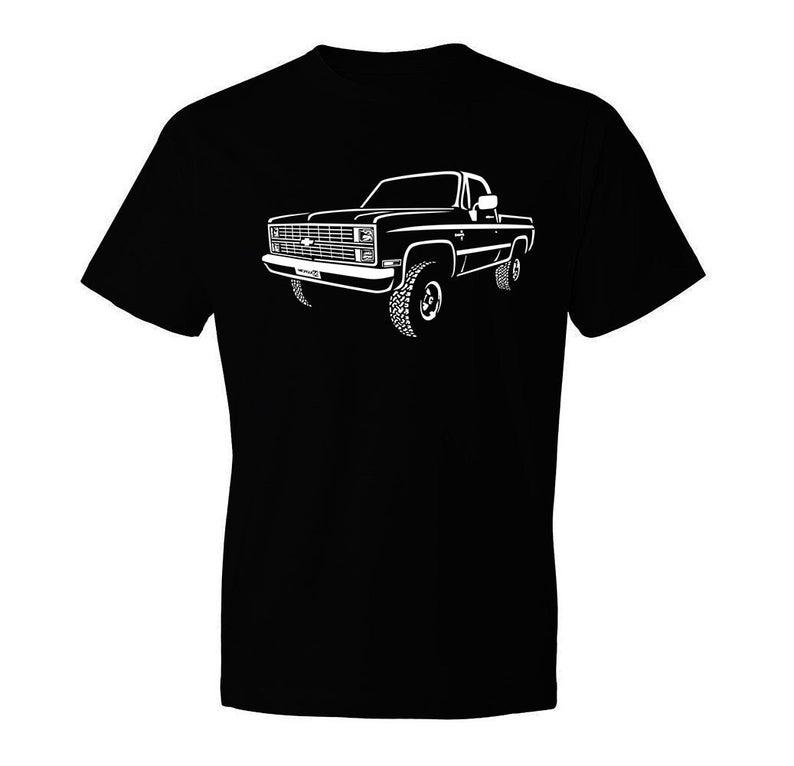 1983 Chevy K10 Shirt, Car Enthusiast, Classic Car Shirt, K10 Shirt, 1981 1982 1983 1984 Chevy K10