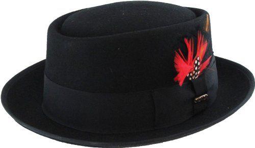 Dorfman Pacific Scala Classic Jazz Porkpie Hat Cap Classic Jazz b15281b292f