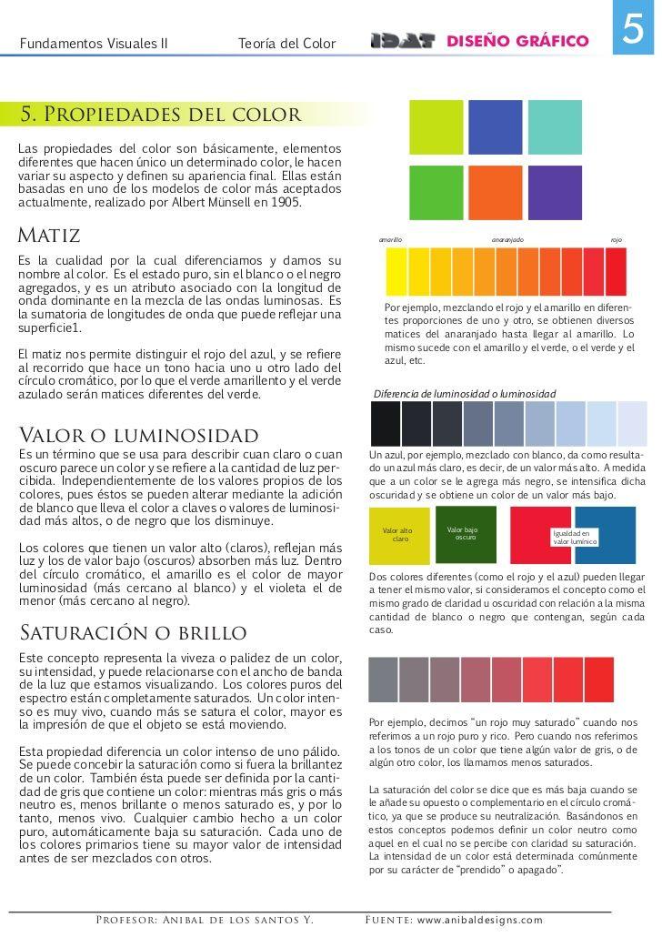 fundamentos visuales - Buscar con Google   Color   Pinterest
