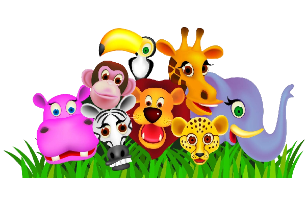 animated zoo clipart Google Search Arte di bambino
