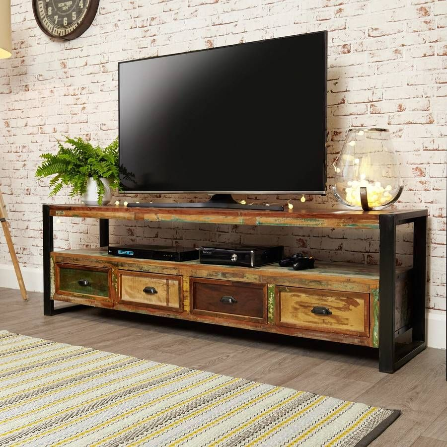 Tv Lowboard Industriedesign Shoreditch Tv Cabinet Small And Widescreen Living Pinterest