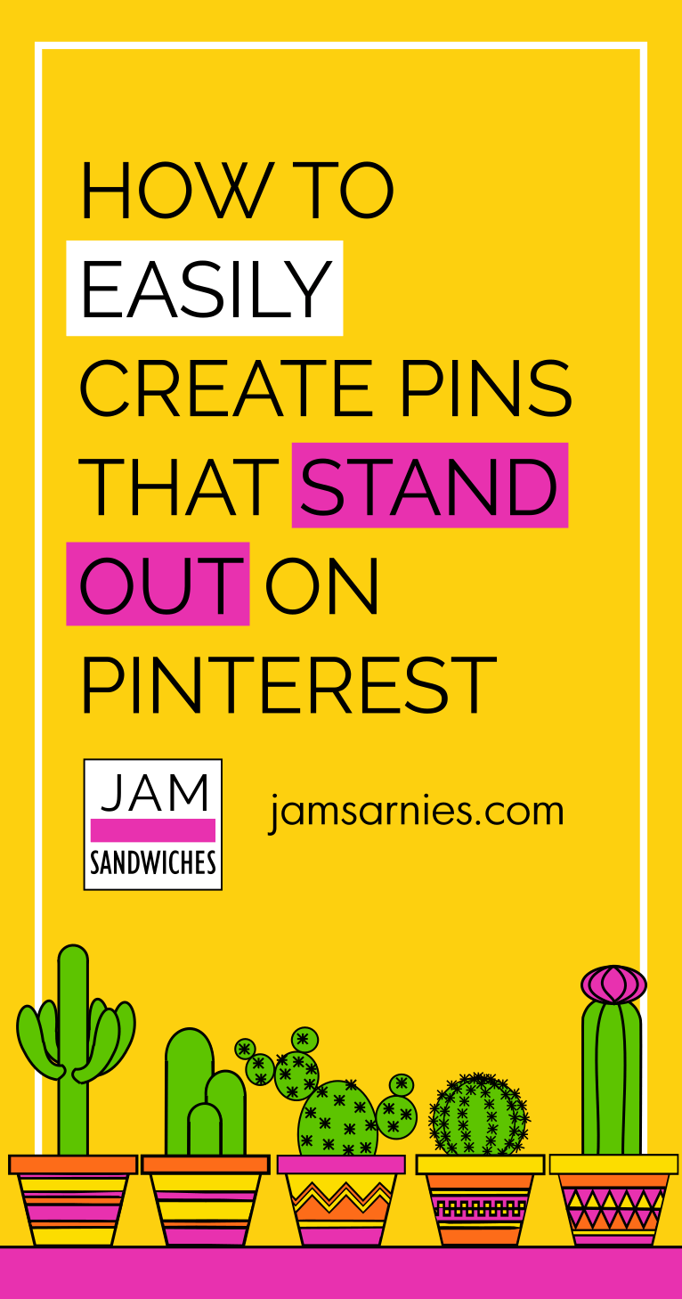 How to create pins that stand out on Pinterest. 10 easy steps to make unique images using vectors and Inkscape for free.