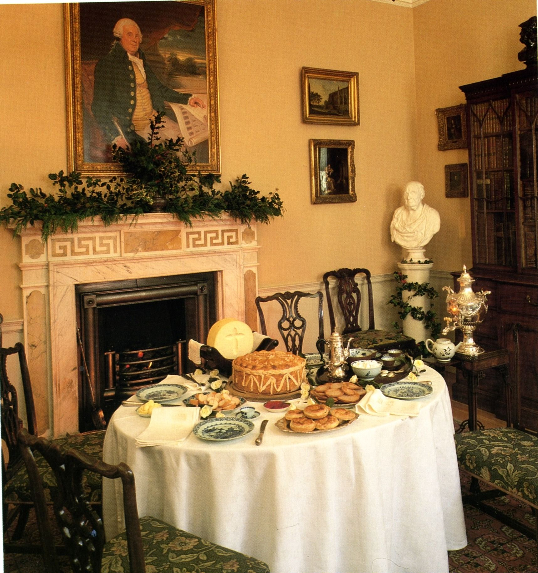 Key Interiors By Shinay Country Dining Room Design Ideas: Jane Austen And Christmas
