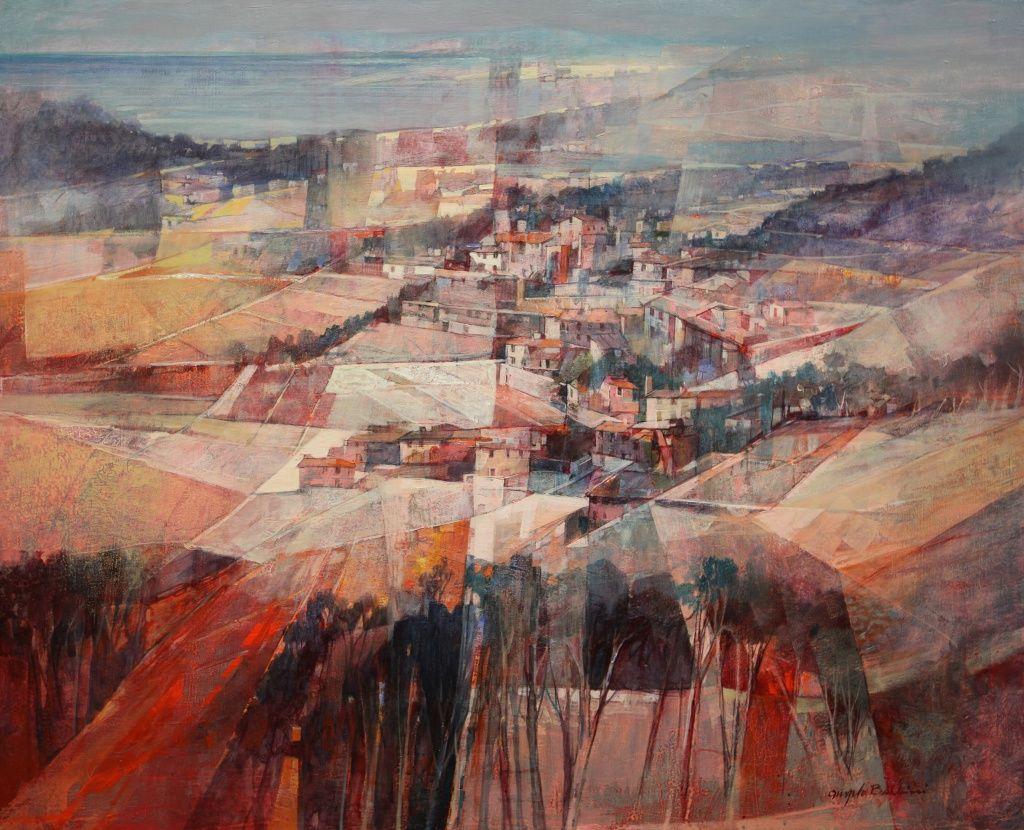 Artiste Peintre Contemporain Toulouse exposition angelo bellini à la galerie alain daudet à