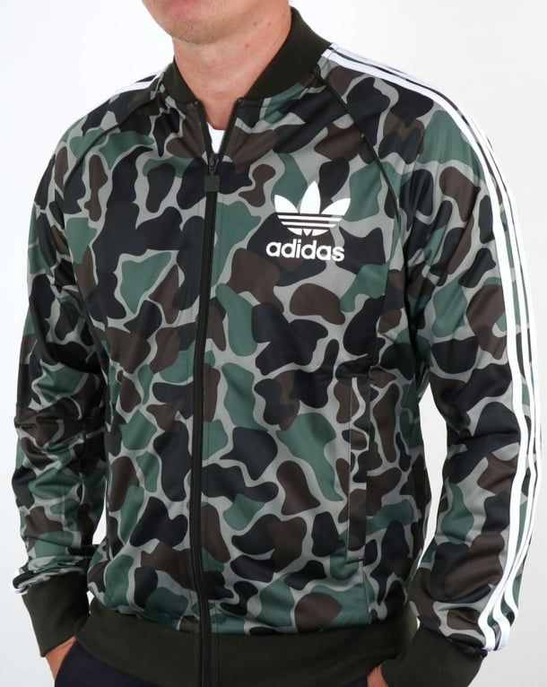 Adidas Originals Camo Superstar Track Top,tracksuit,jacket