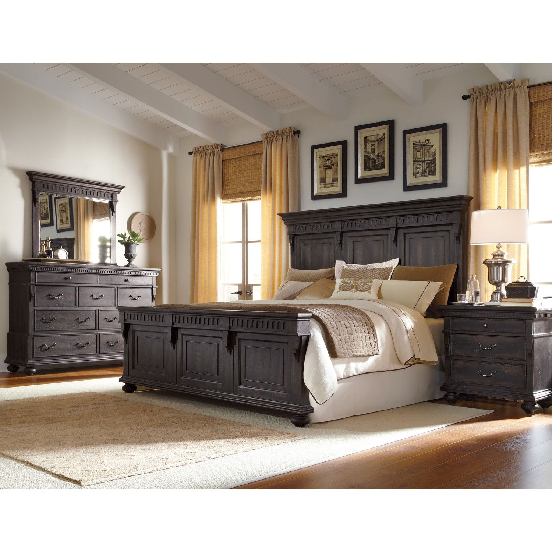 Accentrics By Pulaski Kentshire Panel Customizable Bedroom Set