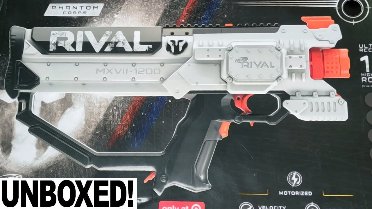 [UNBOXING] Nerf Rival Hera MXVI 1200 Phantom Corps Blaster FIRST LOOK! (New