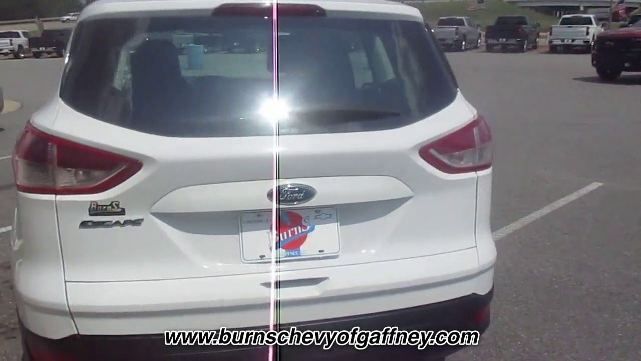 Used 2013 Ford Escape S At Burns Chevrolet Of Gaffney Used