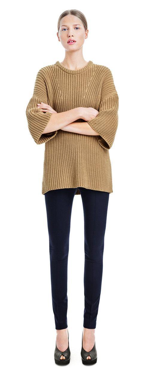Chunky Rib Pullover - Knitwear - Woman - Filippa K