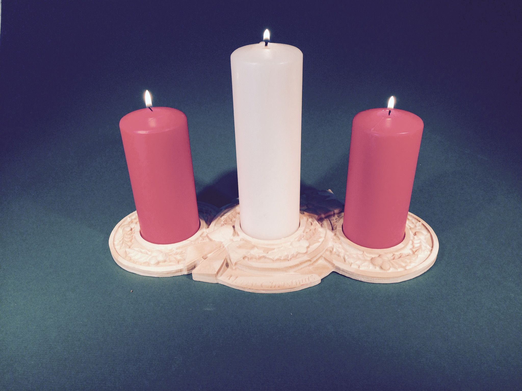 Christmas candle holder products pinterest products