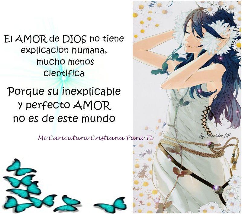 Pin De Any En Caricatura Cristiana Dios Dios Es Amor Y Amor