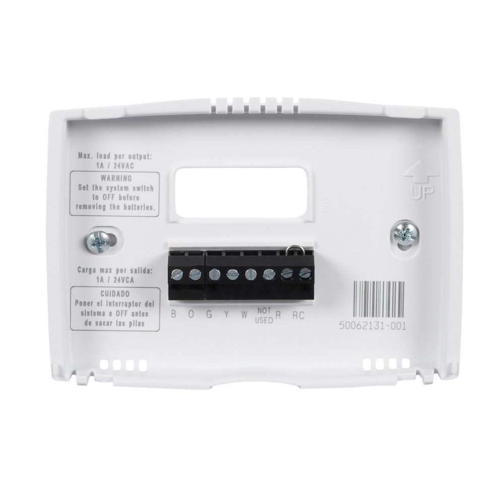 Honeywell home 52 day programmable thermostat with