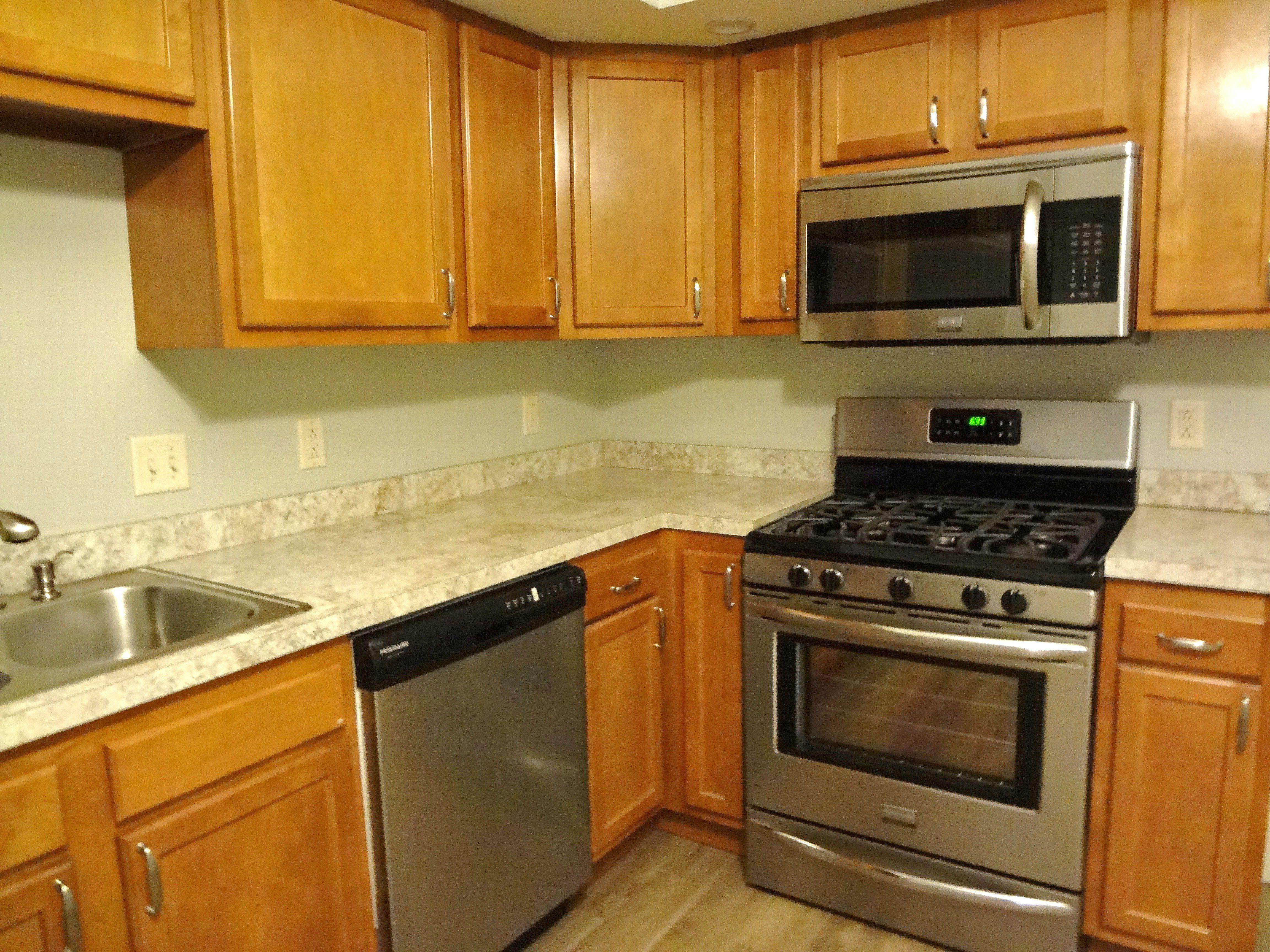 Crema Mascarello Formica Benjamin Moore Gray Owl Luxury Apartments Kitchen Appliances Kitchen