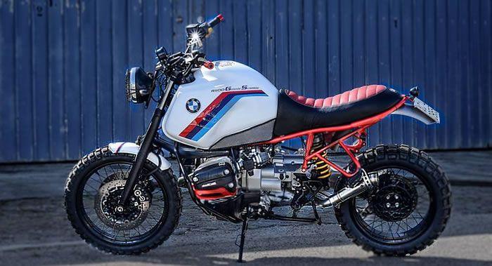 Bmw gs by dirty gas garage moto custom blog harley davidson caf racer bobber biker pin - Garage moto bmw belgique ...
