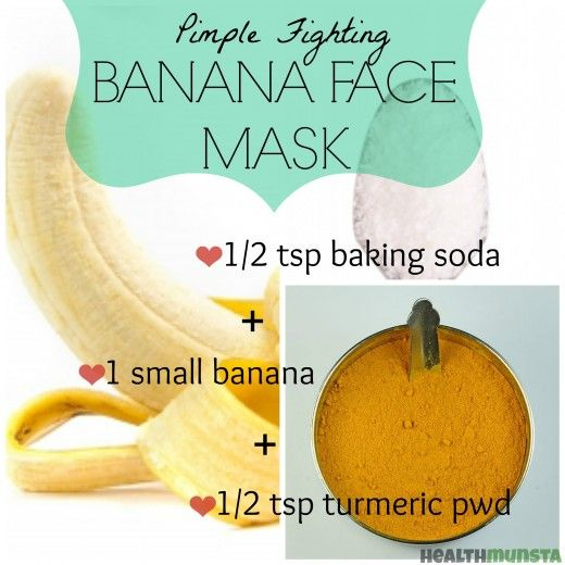 DIY: Banana Face Mask Recipes for Radiant Skin | A well, Sodas and ...