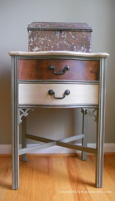 Painted End Tables on Pinterest