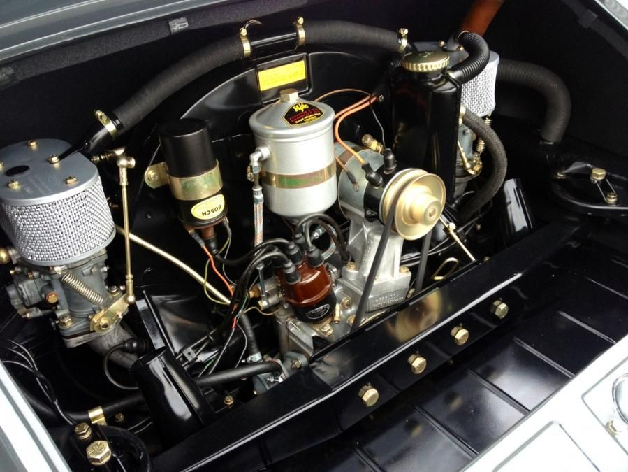 Clean 912 Engine