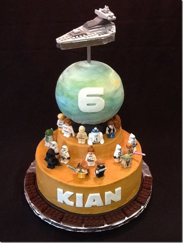 Great Lego Star Wars Cake Pinterest Star Wars Cake Lego Star