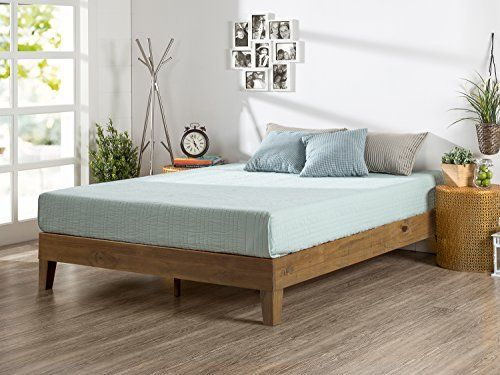Zinus 12 Inch Deluxe Wood Platform Bed No Boxspring