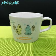 Hot Cartoon Moomin Valley funny novelty travel mug 11oz Ceramic white coffee tea milk cup Personalized Birthday Christmas gifts(China (Mainland))