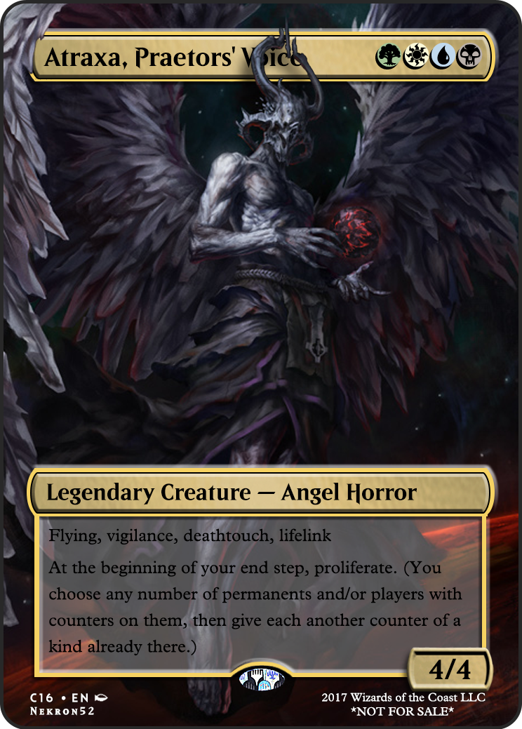 image about Mtg Printable Proxies referred to as Atraxa, Praetors Voice If by yourself incorporate any recommendations for a