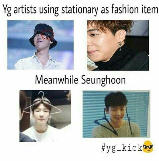 Omg Seunghoon Winner Winner Kpop Winner Meme Kpop Memes
