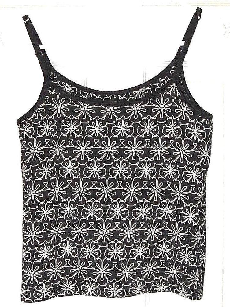 Nike Sport Athletic Tank Top Camisole Sleeveless Black