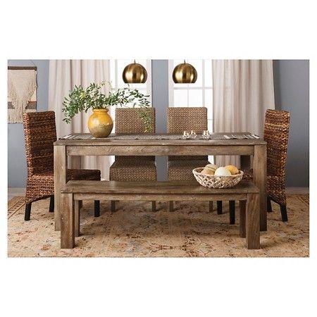 Braxton Farm Table Collection Wood   Mudhut™ : Target