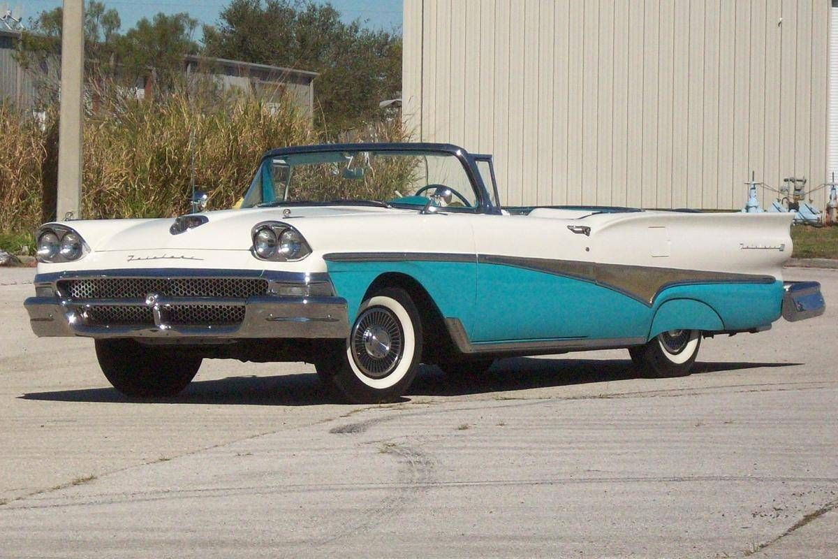 1958 ford fairlane 500 skyliner maintenance restoration of old vintage vehicles the material
