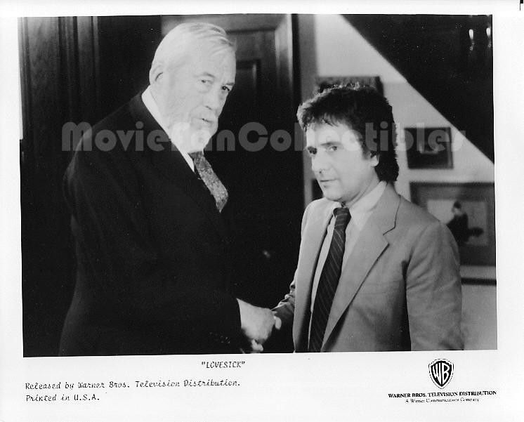 Lovesick 8x10 Publicity Photo Dudley Moore, Alec Guinness